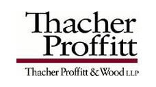 Thacher Proffitt & Wood LLP Logo