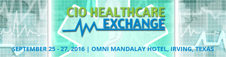 CIO Healthcare Exchange 2016