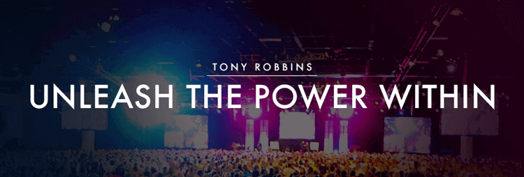 Tony Robbins Unleash the Power Within Seminar