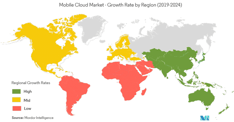 Modor Intelligence Mobile Cloud Market Growth Rate