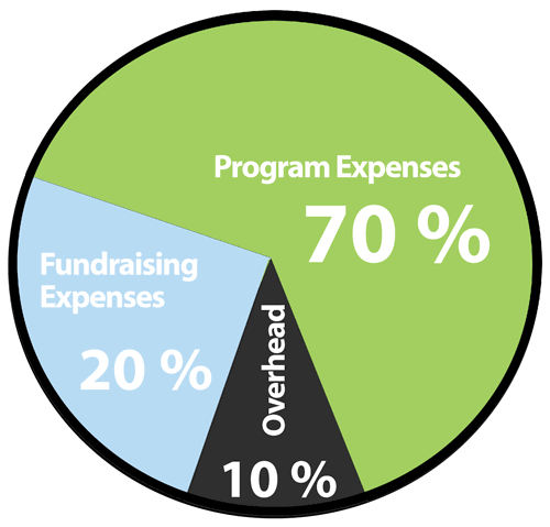 Nonprofit Average Expense Breakdown