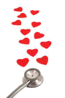 Stethoscope & Hearts for Good Doctors