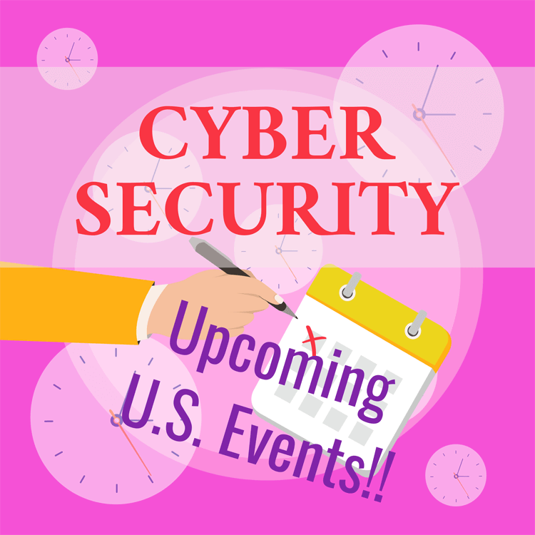 Upcoming Cyber Security Events for 2020