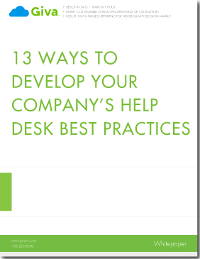 13 Ways to Develop Your Company's Help Desk Best Practices