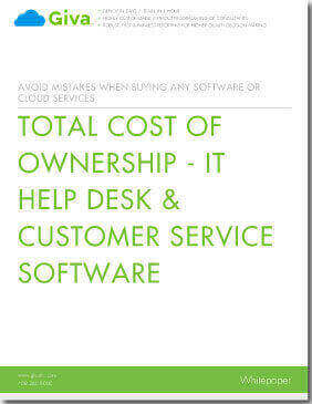 Total Cost of Ownership - IT Help Desk & Customer Service Software
