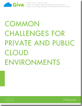 Common Challenges for Private and Public Cloud Environments