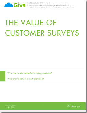 Retaining Customers By Measuring Their Satisfaction