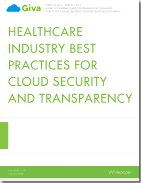 Healthcare Industry Best Practices for Cloud Security and Transparency