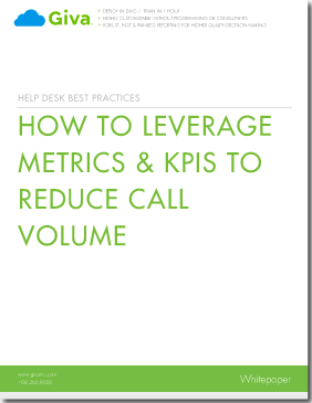 How to Leverage Metrics & KPIs to Reduce Call Volume