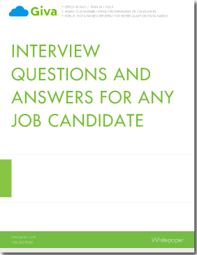 Questions to Ask Job Candidates When Interviewing, With Answers | Giva