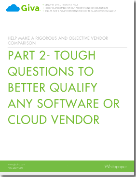 Ten Tough Questions to Better Qualify Any Cloud Vendor