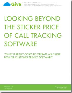 Using TCO to Evaluate Help Desk & Customer Service Software- Total Cost of Ownership