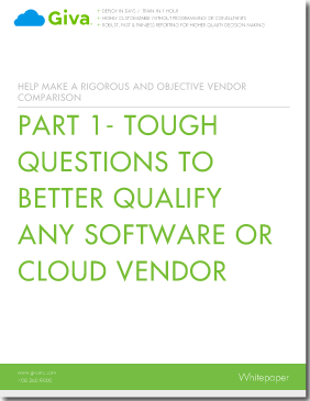 Ten Tough Questions to Better Qualify Any Software or Cloud Vendor